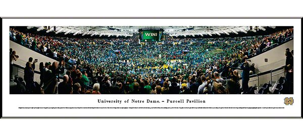 NCAA Basketball Standard Framed Photographic Print by Blakeway Worldwide Panoramas, Inc