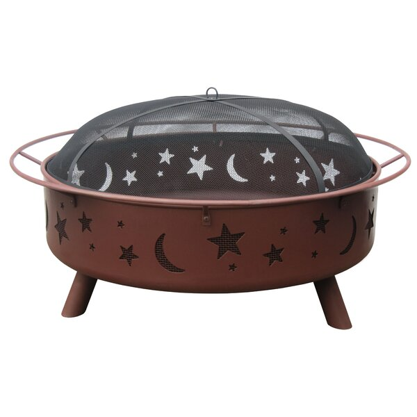 Super Sky Steel Wood Burning Fire Pit by Landmann