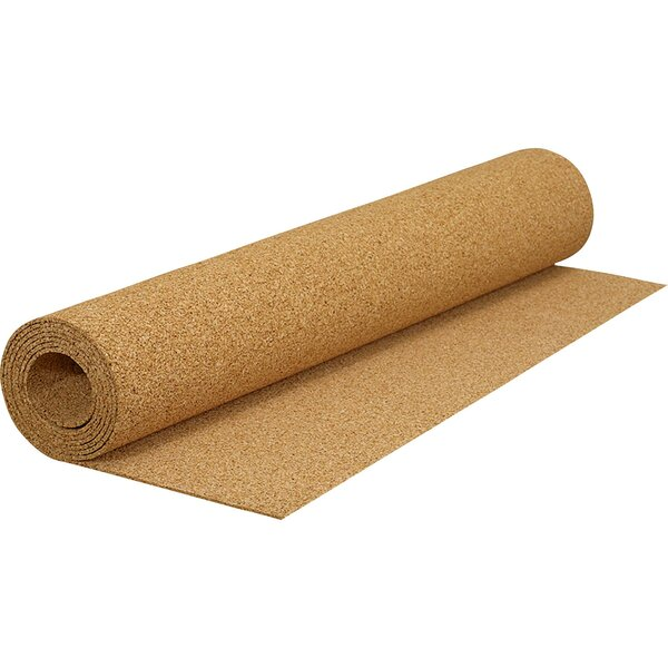 Cork Underlayment Roll (100 sq.ft./Roll) by QEP