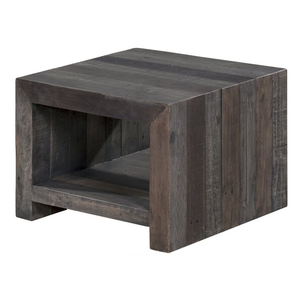 Tristan End Table by 17 Stories