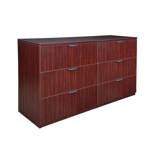 Linh Stand Up Side to Side 6-Drawer Lateral Filing Cabinet by Latitude Run