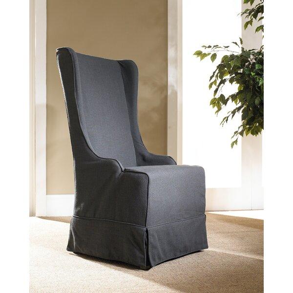 Check Price Sloan Box Cushion Wingback Slipcover