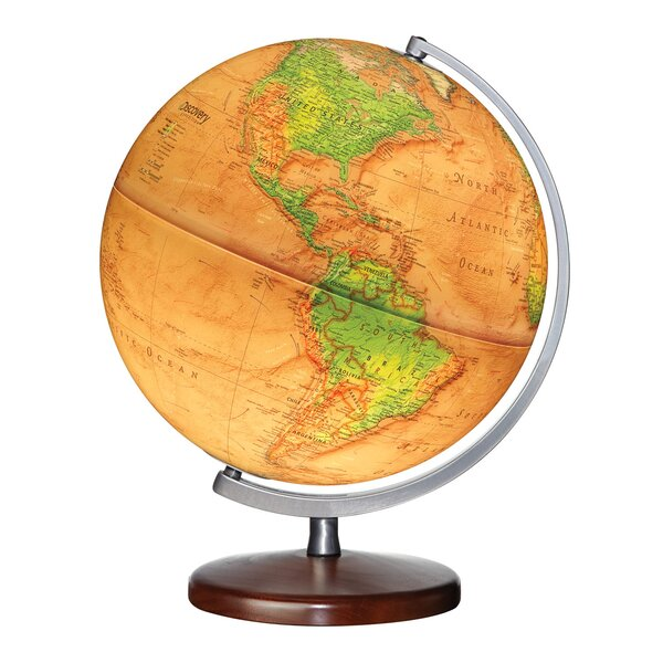 Queen Anne Floor Globe by Replogle Globes