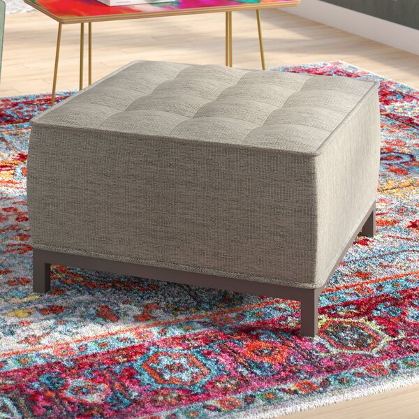 Mcspadden Ottoman by Mercury Row