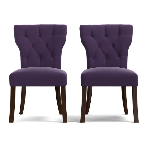 Kern Upholstered Dining Chair (Set of 2) by Charlton Home