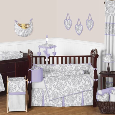 Elizabeth 9 Piece Crib Bedding Set by Sweet Jojo Designs