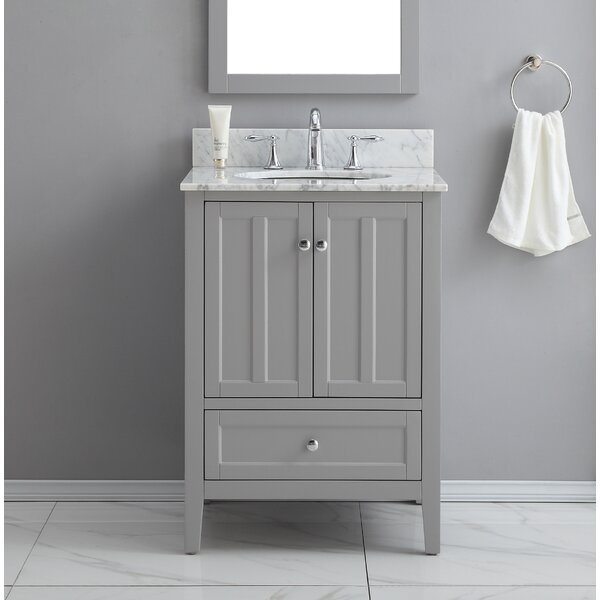 Quezada 25 Single Bathroom Vanity Set by Ebern Des