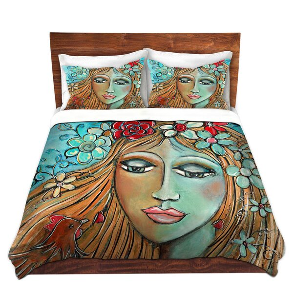 Whispers On A Summers Breeze Duvet Cover Set