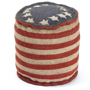 Reviews Melra Betsy Ross Pouf ByAugust Grove
