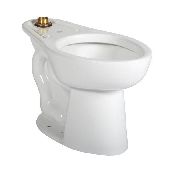 Glenwall 1.6 GPF Elongated Wall-Mount Toilet (Seat Not Included) by American Standard