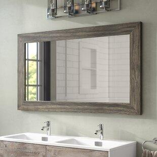 Lovely Rockaway Barnwood Bathroom Mirror