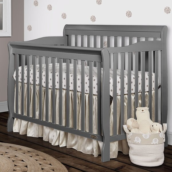 Rudd 5-in-1 Convertible Crib by Viv + Rae