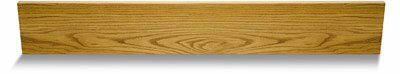 36 Natural Red Oak Riser by Moldings Online