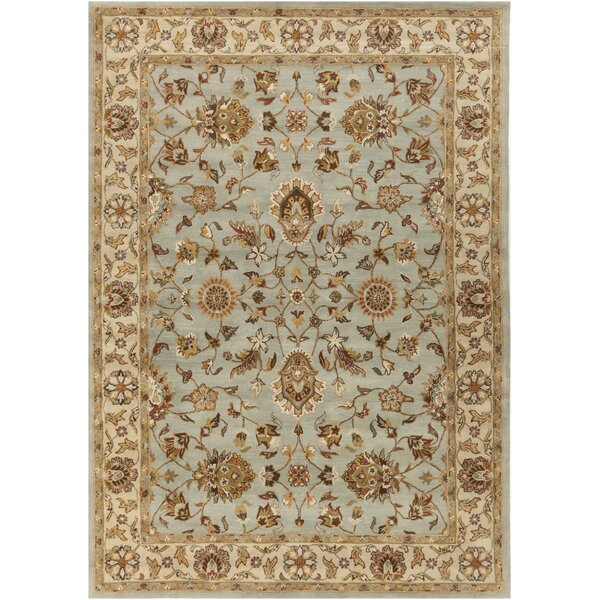 Plemmons Stone Blue Area Rug by Three Posts