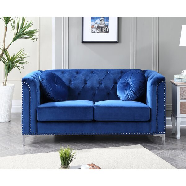 Get Great Caire Loveseat by Mercer41 by Mercer41