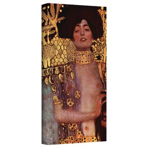 ''Judith'' by Gustav Klimt Print of Painting on Canvas by ArtWall