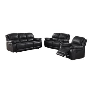 #1 Juan Leather Reclining Loveseat Latitude Run