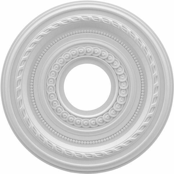 Cole 0.75H x 13W x 13D Ceiling Medallion by Ekena Millwork