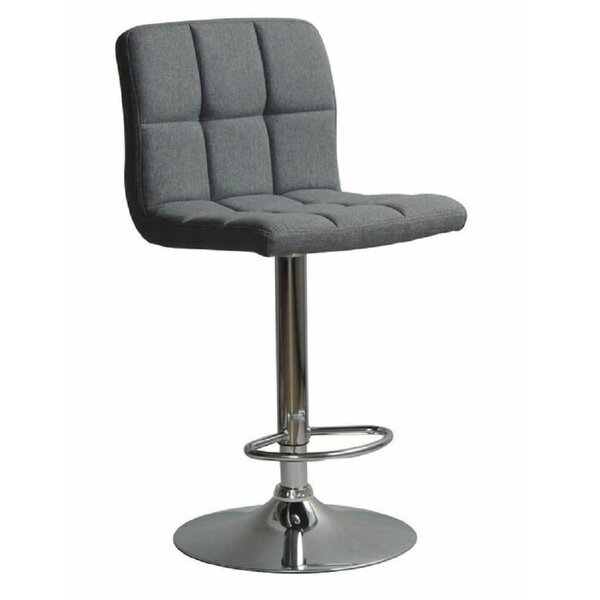 Grier Adjustable Height Swivel Bar Stool By Ebern Designs
