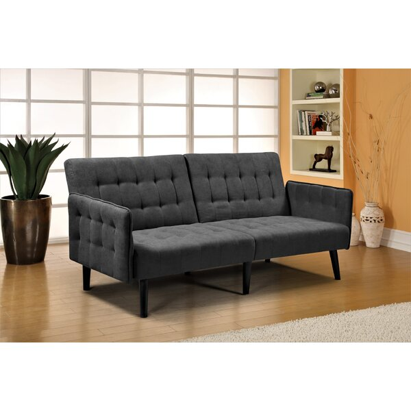 Sparks 78'' Square Arm Sofa Bed By George Oliver