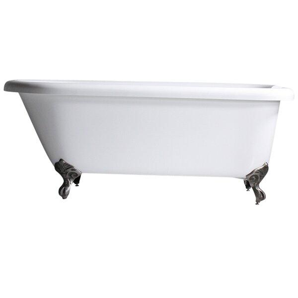 Hotel Acrylic Classic 56 x 31 Freestanding Soaking Bathtub by Baths of Distinction