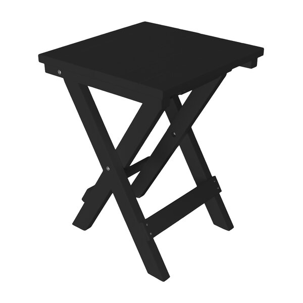 Cowie Folding Plastic Bistro Table by Highland Dunes