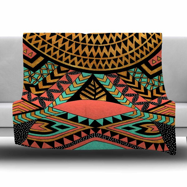 PeruNative by Pom Graphic Design Fleece Blanket by East Urban Home
