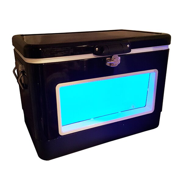54 Qt. LED Party Cooler by BREKX
