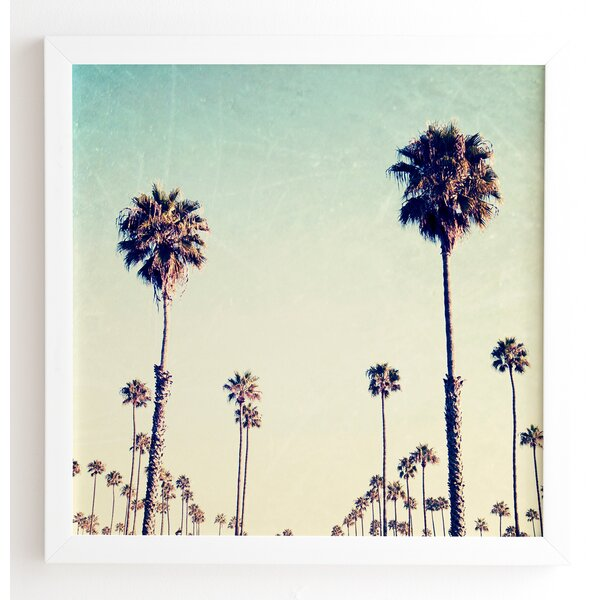 California Palm Trees Framed Photographic Print by Mercer41