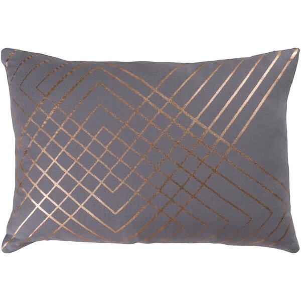 Caressa Contemporary Cotton Lumbar Pillow by Willa Arlo Interiors