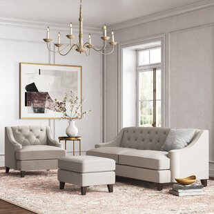 Dolce 3 Piece Standard Living Room Set by Kelly Clarkson Home