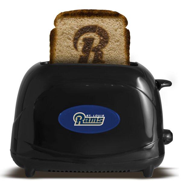 NFL 2-Slice ProToast Elite Toaster by Pangea Brands