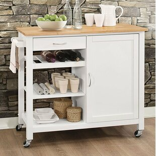 Furlow Wheeled Kitchen Island By Ebern Designs