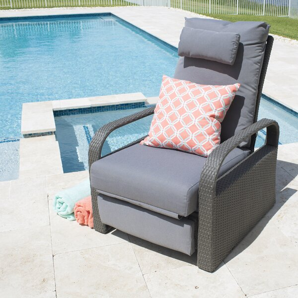 Patio Chair with Cushions by Matrix