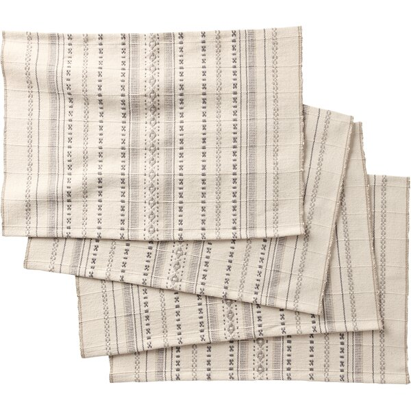 Jenner Stripe Placemat (Set of 4) by Coyuchi