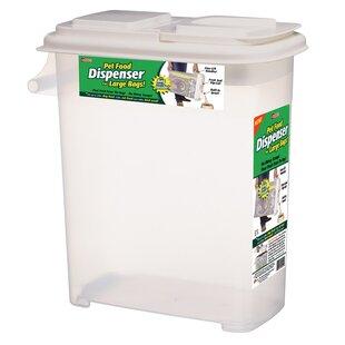 Bag-In Dry 32 Qt Pet Food Storage Container \u0026 Dispensers You\u0027ll Love