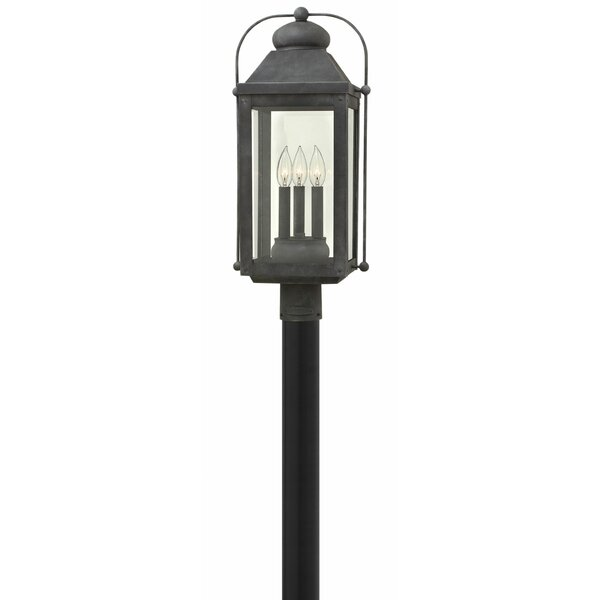 Anchorage Outdoor 3-Light Lantern Head by Hinkley Lighting