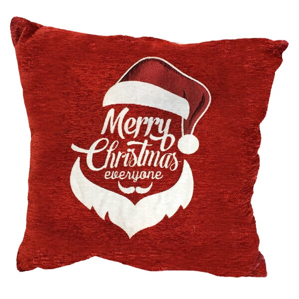 Santa Hat Throw Pillow by The Holiday Aisle