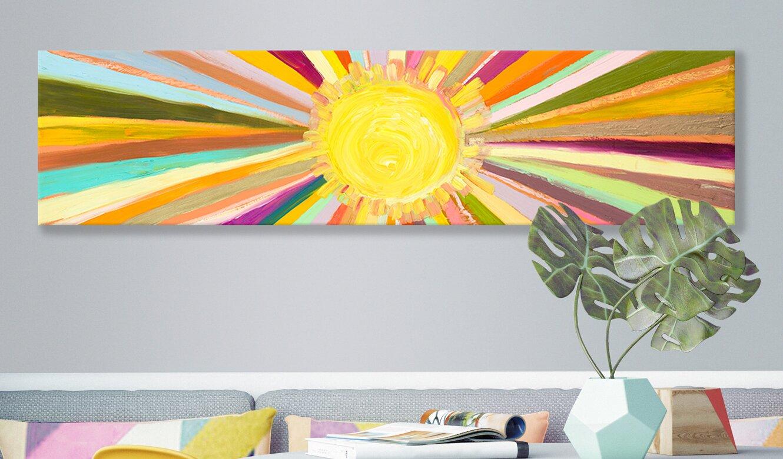 GreenBox Art \'Little Sunshine\' by Eli Halpin Painting Print on ...