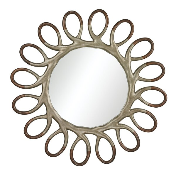 Olene 2-Tone Accent Mirror by Wade Logan