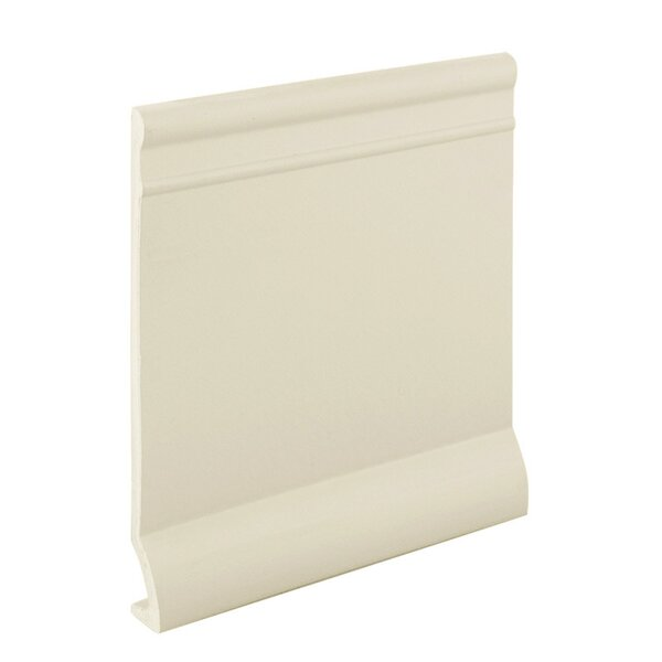 0.13 x 720 x 5.25 Cove Molding in Ivory by ROPPE