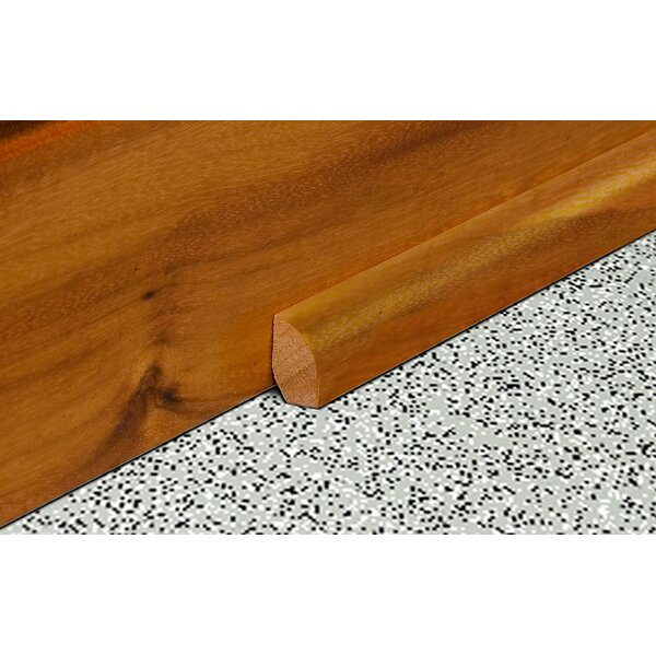 0.47 x 0.75 x 94 Solid Eucalyptus Base/Shoe Molding by Moldings Online