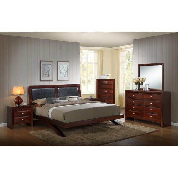 Alidge Platform Solid Wood 5 Piece Bedroom Set by Grovelane Teen