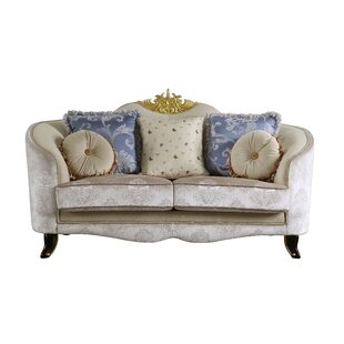 Quane Loveseat w/5 Pillows