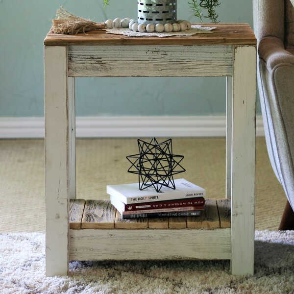 Marleigh End Table by Highland Dunes