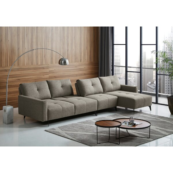 Hitchens Right Hand Facing Sectional By Brayden Studio