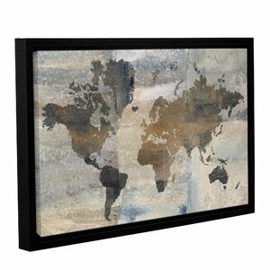 'Stone World' Framed Painting Print by World Menagerie
