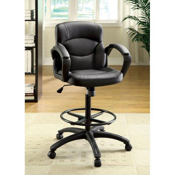 Ebony Drafting Chair by Hokku Designs