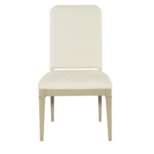 Savoy Place Upholstered Side Chair in White (Set of 2) by Bernhardt Bernhardt