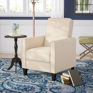 Prentice Modern Living Room Manual Recliner by Andover Mills